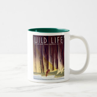 Wildlife WPA Poster (Deer) Coffee Mug