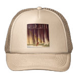 Wildlife WPA Poster (Deer) Trucker Hat