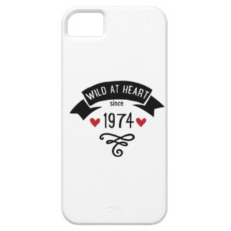 wildly RK heart since 1974 iPhone SE/5/5s Case