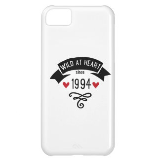 wildly RK heart since 1994 Case For iPhone 5C