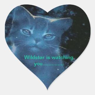 Wildstar le está mirando pegatina