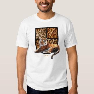 WildStyles-Tiger Power Ladies Destroyed T-shirt