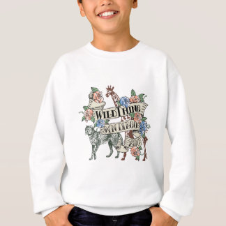 Wildthing Art for San Diego Zoo Sweatshirt