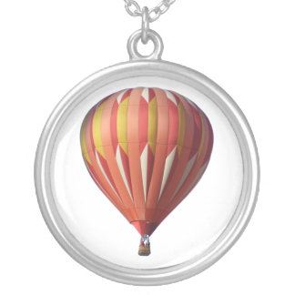 WildThing Hot Air Balloon Necklace` Round Pendant Necklace