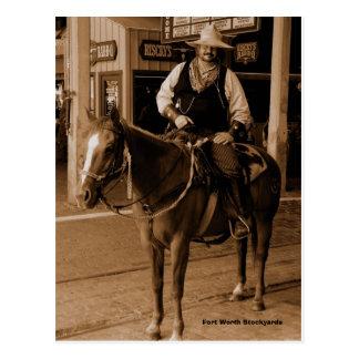 WildWest, corrales de Fort Worth Tarjetas Postales