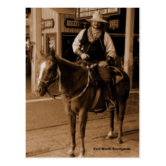 WildWest Fort Worth Stockyards Postcards