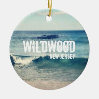 Wildwood- 2013 - Recuperación en la orilla del Adorno Redondo De Cerámica