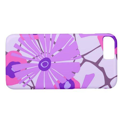 WILDWOOD BAY, MODERN: ROMANTIC PARISIAN PURPLE iPhone 8/7 CASE
