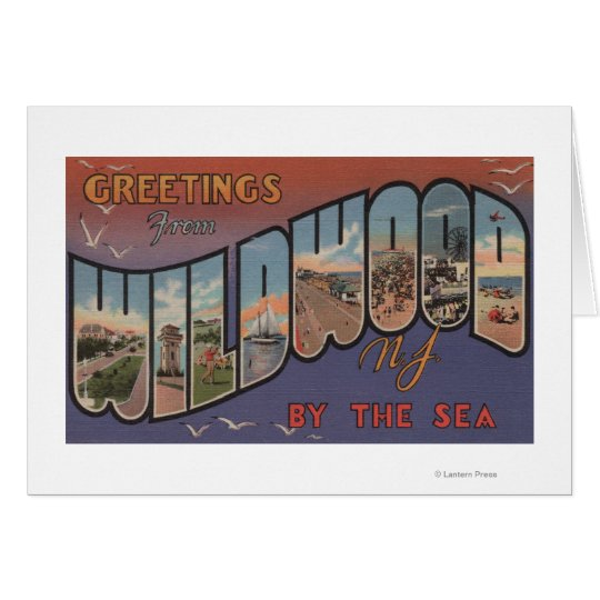 Wildwood-by-the-Sea, New Jersey 2 Card