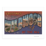 Wildwood-by-the-Sea, New Jersey 2 Postcards