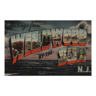 Wildwood-by-the-Sea, New Jersey 3 Print