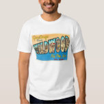 Wildwood by the Sea New Jersey NJ Vintage Postcard T-Shirt