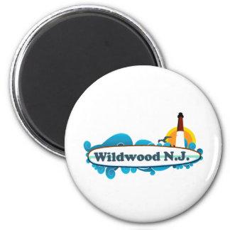 Wildwood. Imán Redondo 5 Cm