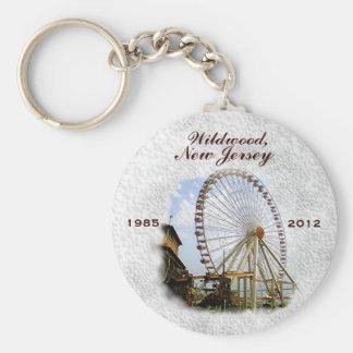 Wildwood, New Jersey Ferris Wheel Keychain