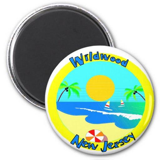Wildwood, New Jersey Imán De Frigorífico