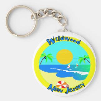 Wildwood, New Jersey Keychain