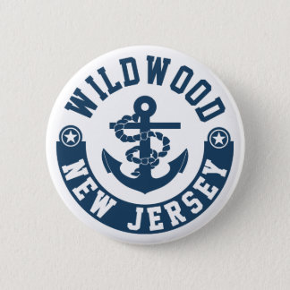 Wildwood New Jersey Pinback Button
