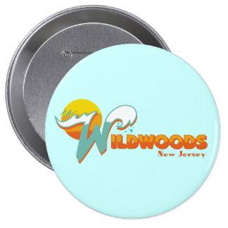 Wildwood NJ Pinback Button