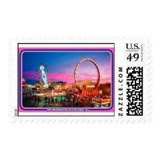 Wildwood, NJ, sellos de la edición del colector de