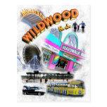 Wildwood, paseo marítimo de New Jersey Tarjeta Postal