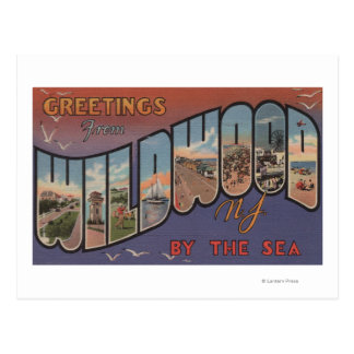 Wildwood-por--Mar, New Jersey 2 Postal