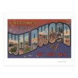 Wildwood-por--Mar, New Jersey 2 Tarjetas Postales