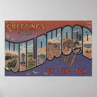 Wildwood-por--Mar, New Jersey Posters