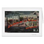 Wildwood-por--Mar, New Jersey Tarjetón