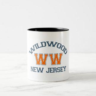 Wildwood. Taza De Café De Dos Colores