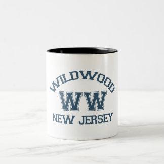 Wildwood. Two-Tone Coffee Mug
