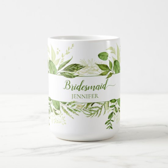 Wildwoods Botanicals Bridesmaid Mug