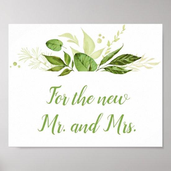 Wildwoods Botanicals Cards & Gifts Sign