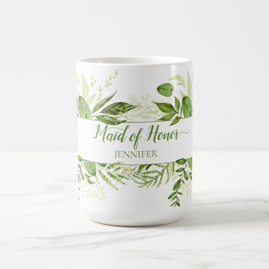 Wildwoods Botanicals Maid of Honor Mug
