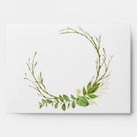Wildwoods Botanicals Wedding Invitation Envelopes