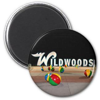 Wildwoods firma adentro Wildwood New Jersey Imanes
