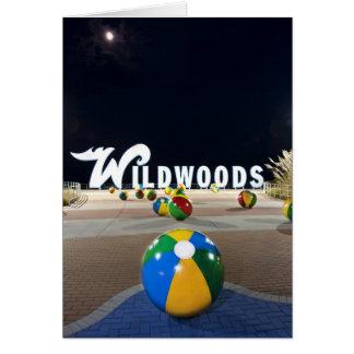 Wildwoods firma adentro Wildwood New Jersey Felicitación