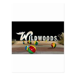 Wildwoods firma adentro Wildwood New Jersey Tarjetas Postales