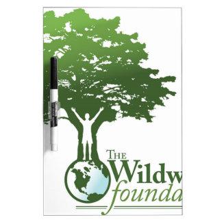 Wildwoods Foundation Logo Dry Erase Whiteboards