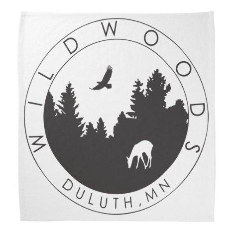 Wildwoods Logo Bandanna