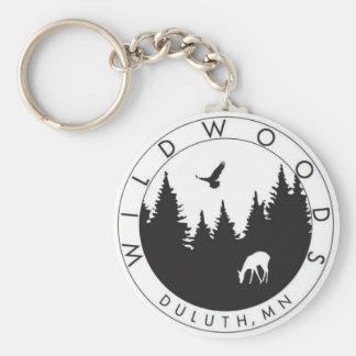 Wildwoods Logo Keychain