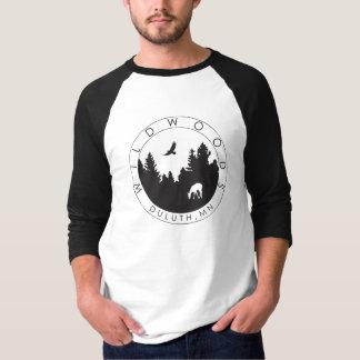 Wildwoods Logo Mens' 3/4 Sleeve T T-Shirt