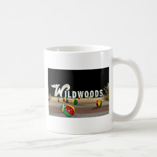 Wildwoods Sign in Wildwood New Jersey Coffee Mug