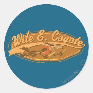 Wile Carnivorous Vulgaris Classic Round Sticker