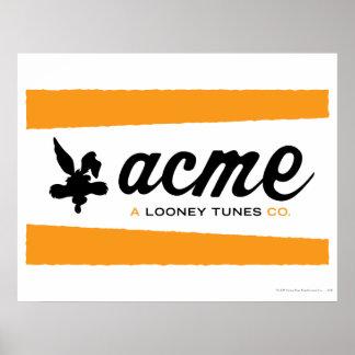 Wile E Coyote Acme 3 Poster