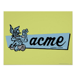 Wile E Coyote Acme 4 Posters