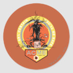 Wile E Coyote Acme - 68% Certain You'll Be Safe Round Sticker