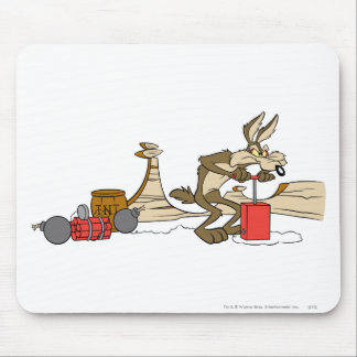 Wile E Coyote Acme Products 11 2 Mouse Pad
