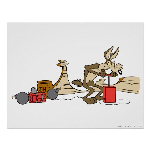 Wile E Coyote Acme Products 11 2 Print