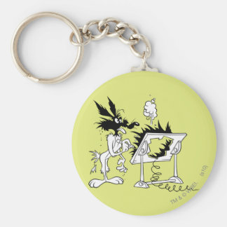 Wile E Coyote Acme Products 6 Keychain