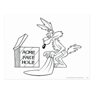 Wile E Coyote Acme Products 7 Postcard